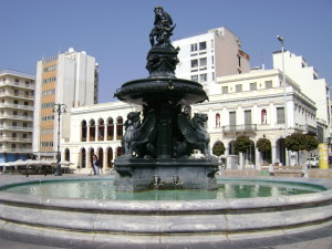 King_George_square_in_Patra